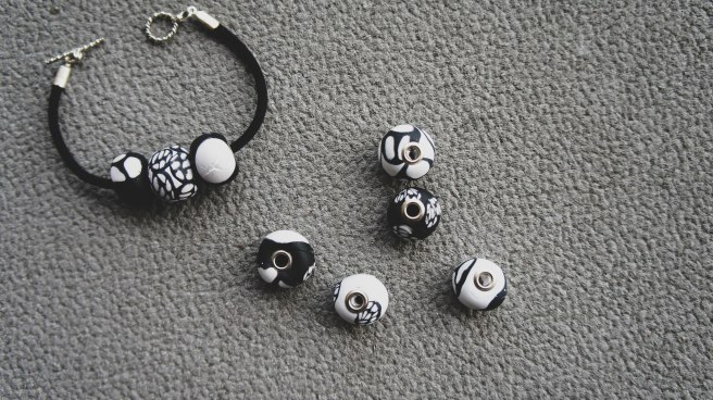 Polymer Clay beads 4