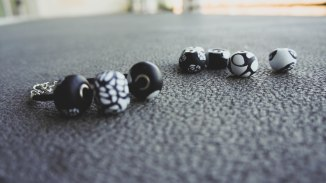 Polymer Clay beads 1