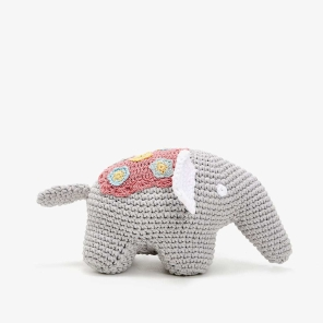 CROCHET ELEPHANT SOFT TOY